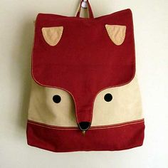 littleoddforest   Wanderlust Critter Backpack (Fantastic Fox)