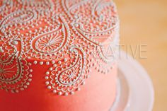 Paisley cake by mariaVcreative
