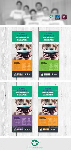 Charity Roll-Up Template #design Download: http://graphicriver.net/item/charity-rollup-templates/11173320?ref=ksioks