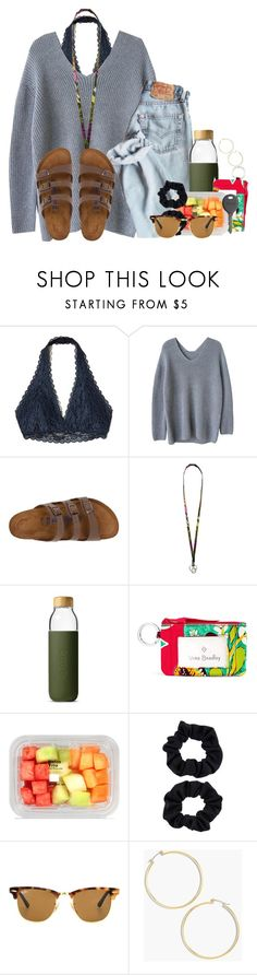 """""""Half a million people don't have electricity in FL"""" by flroasburn ❤ liked on Polyvore featuring Hollister Co., Birkenstock, Vera Bradley, Soma, Accessorize, Ray-Ban, Cherokee and J.Crew"""