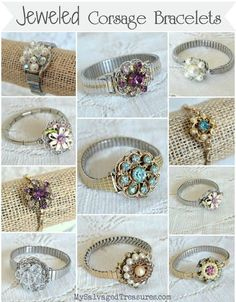 My Salvaged Treasures: My Jewelry Creations
