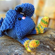 Tumbling Bunnies Free Knitting Pattern for Easter