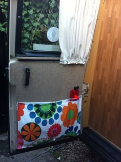 Extra pockets on back door. Talbot Rambler autosleeper
