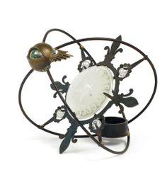Mark Brazier-Jones, Astrocharger Steel, bronze and glass.  Edition sold oud