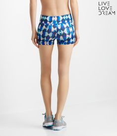 LLD Neon Geo Volleyball Shorts -