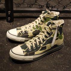 CONVERSE ALL STAR TOKYO CUSTOM MADE HI 83CAMO #sneaker