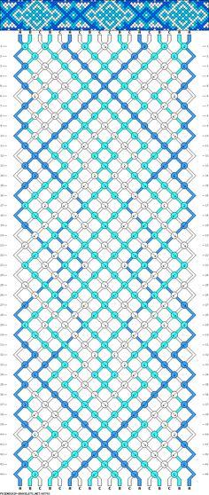 18 strings 44 rows 3 colors