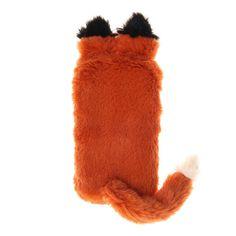Plush Fox Phone Slipper