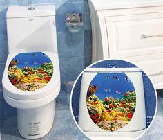 3D Printed Bathroom Decor Sticker //Price: $8.99 & FREE Shipping //     #Unwind #ModernShowerIdeas