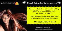 #HezalAsim #unisexsalon at #livingstylemall #jasola #newdelhi #deals