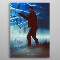 "Beautiful ""Jack Joyce"" metal poster created by Eden Design. Our Displate metal prints will make your walls awesome. Horror Movie Posters, Horror Movies, Eden Design, Poster Prints, Art Prints, Vintage Horror, Blade Runner, Print Artist, Good Company"