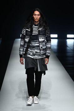 Yoshio Kubo Fall/Winter 2016/2017 - Mercedes-Benz Fashion Week Tokyo Tokyo Fashion, Mens Fashion, How To Look Better, Fall Winter, Normcore, Menswear, Boys, Mercedes Benz, Style