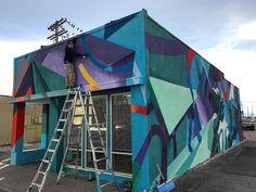 Wip @ Dayton Laborer center  #aurora #mural #freehand with @booka_theking