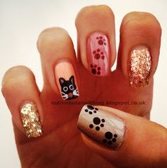 Cat nails kitty.Mom if you are reading this show this to Brooke