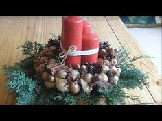 Christmas Wreaths, Table Decorations, Holiday Decor, Youtube, Home Decor, Decoration Home, Room Decor, Interior Design, Home Interiors