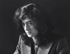 Jimmy Page photographed by Herb Greene, 1969.