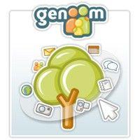 Genoom es red social que se centra en la creación de un árbol genealógico a través del cual podemos ir invitando a nuestros familiares a unirse y compartir con ellos fotografías y mensajes además de estar todos debidamente localizados sobre un mapa.