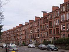Glasgow tenements.