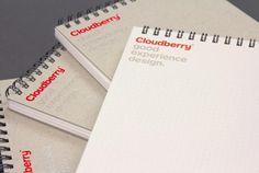 Cloudberry Visul Identity Design by Perky Bros LLC