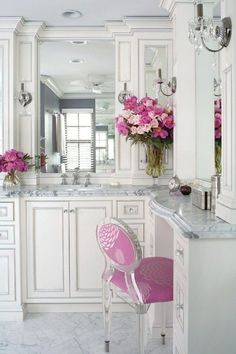 theliberiangirl: Flowers… White interior with... - Dream Fierce