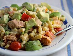 Green Goddess Chicken Pasta Salad