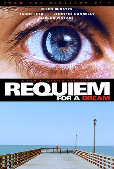 requiem for a dream is a 2000 drama film directed by darren aronofsky, based on the novel of the same title by hubert selby, jr. starring ellen burstyn, jared leto, marlon wayans and jennifer connelly. Marlon Wayans, Jennifer Connelly, Jared Leto, See Movie, Movie Tv, Requiem For A Dream, Darren Aronofsky, Films Cinema, Bon Film