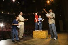 A play is great idea for a Christmas program.