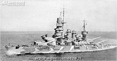 Navi da guerra   R. N. Caio Duilio 1913   nave corazzata da battaglia   Regia Marina Militare Italiana