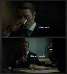 This isn't people! Hannibal funnies. Mads Mikkelsen.