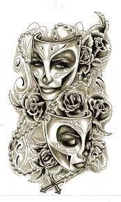 tattoo mask - Hľadať Googlom