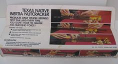 Vintage Native Texas Inertia Nutcracker - Model 7141 Original Box & Instructions