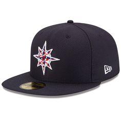 Seattle $Mariners MLB.com Exclusive Stars & Stripes Diamond Era 59FIFTY Cap by New Era $34.99