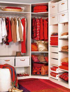 Armario OJO EL LASY SUSAN! genial p las esquinas de lis closets!