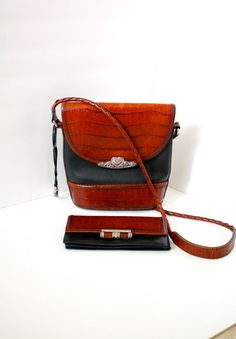 Vintage brighton purse and wallet set by ThisVintageGirl on Etsy