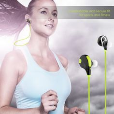 Deal: Aukey Bluetooth 4.1 Wireless Stereo Sport Headphones  $19