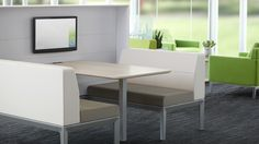 Regard Booth Seating by Steelcase