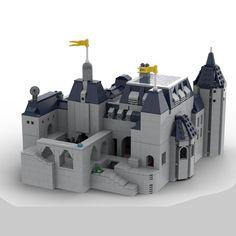LEGO Château Guillard Overwatch Map - building instructions and parts list. Lego Castle, Building Systems, Building Toys, Casa Lego, Lego Construction, Lego Parts, Lego Moc, Lego Creations, Overwatch
