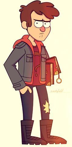 Gravity Falls: teen dipper