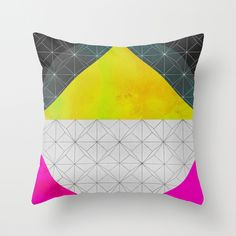 Quadrant Throw Pillow by Georgiana Paraschiv