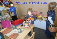 Use this idea to create a New York Street Market for dramatic play