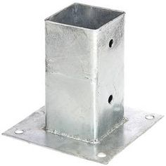 Screw-On Sleeve for Square Wooden Posts Hot-Dip Galvanised 71 x 71 mm Wooden Posts, Garden Fencing, Home And Garden, Cool Stuff, Amazon, Diy, Products, Shopping, Anchor