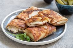 Waffles, Pancakes, Jeanne, Crepes, Light Recipes, Cooking Recipes, Chicken, Prosciutto Cotto, Kitchen
