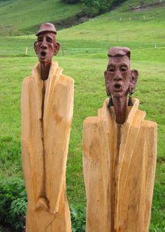 Stahl Skulpturen