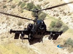 Ka-50 Russian Army's Attack Helicopter.