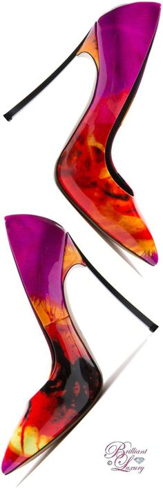 Brilliant Luxury by Emmy DE ♦ Casadei 'Blade' Signature Pump