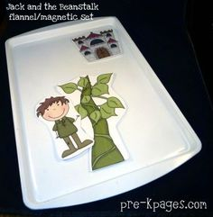Jack and the Beanstalk Printable Flannel or Magnetic Set — Pre-K Pages Nursery Rhymes Preschool, Preschool Literacy, Preschool Books, Preschool Activities, Flannel Board Stories, Flannel Boards, Fairy Tales Unit, Fairy Tale Theme, Toddler Activities
