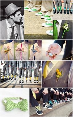Inspiration Friday: Grooms outfits and accessories - Boho Weddings™