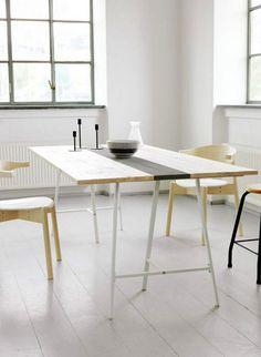 La table à tapisser  s'invite au salon !