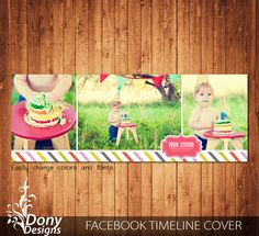 Facebook timeline cover template photo collage - Photoshop Template Instant Download - BUY 1 GET 1 FREE: fc353 by DonyDesigns on Etsy