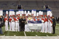 Winning The Bandmasters Championship for the 15th time.